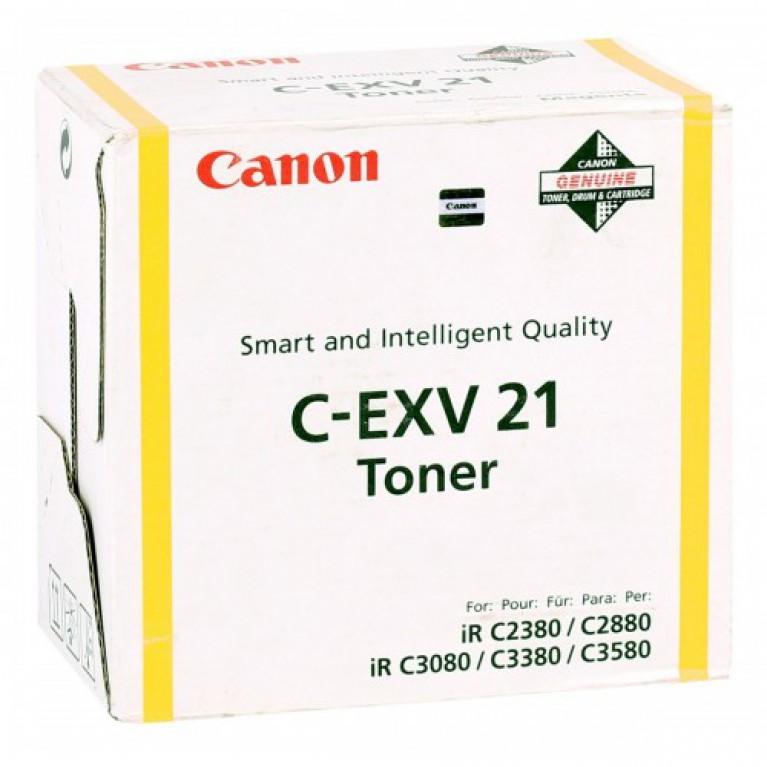Барабан Canon С-EXV21 Y желтый