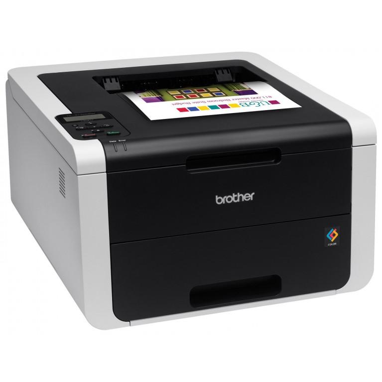 Принтер Brother HL-3170CDW A4, 22 стр/мин, 128 Мб, дуплекс, LAN, WiFi, USB