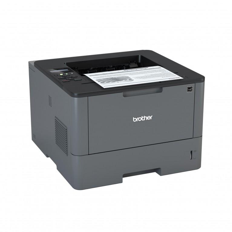 Принтер Brother HL-L5100DN A4, 40 стр/мин, дуплекс, LAN, USB, лоток 250 л.