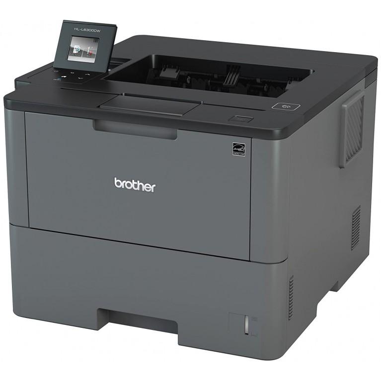Принтер Brother HL-L6300DW А4, 1200?1200 т/д, 46 стр/мин, WiFi, USB, Duplex, NET,NFC