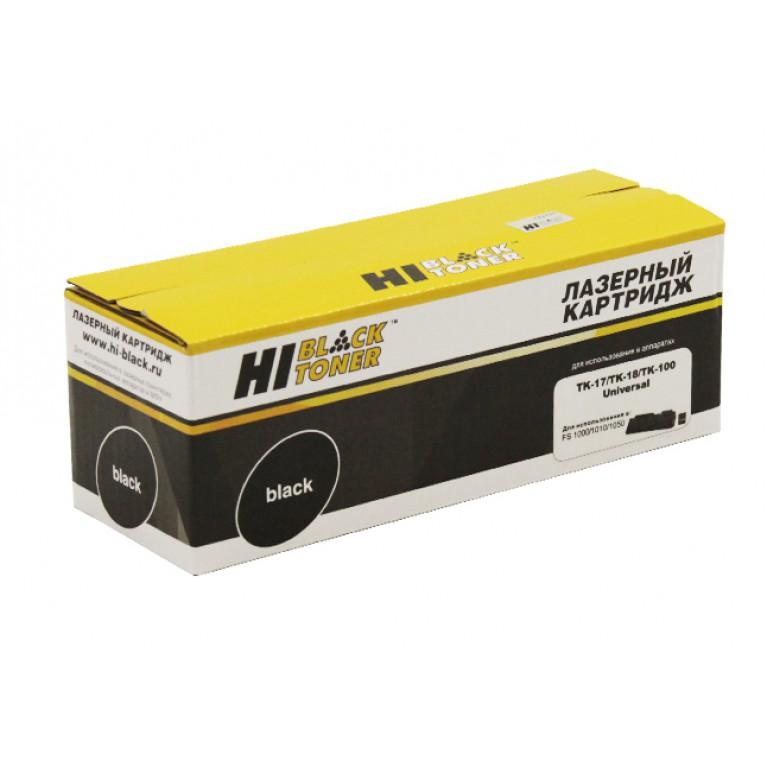 Тонер-картридж Hi-Black HB-TK-100, TK-18 для Kyocera KM-1500, FS-1020, 7,2K