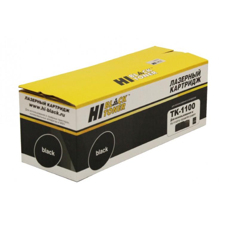 Тонер-картридж Hi-Black HB-TK-1100 для Kyocera FS-1110, 1024MFP, 1124MFP, 2,1K