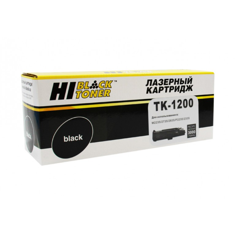 Тонер-картридж Hi-Black HB-TK-1200 для Kyocera P2335d, P2335dn, P2335dw, M2235dn, M2735dn, M2835dw