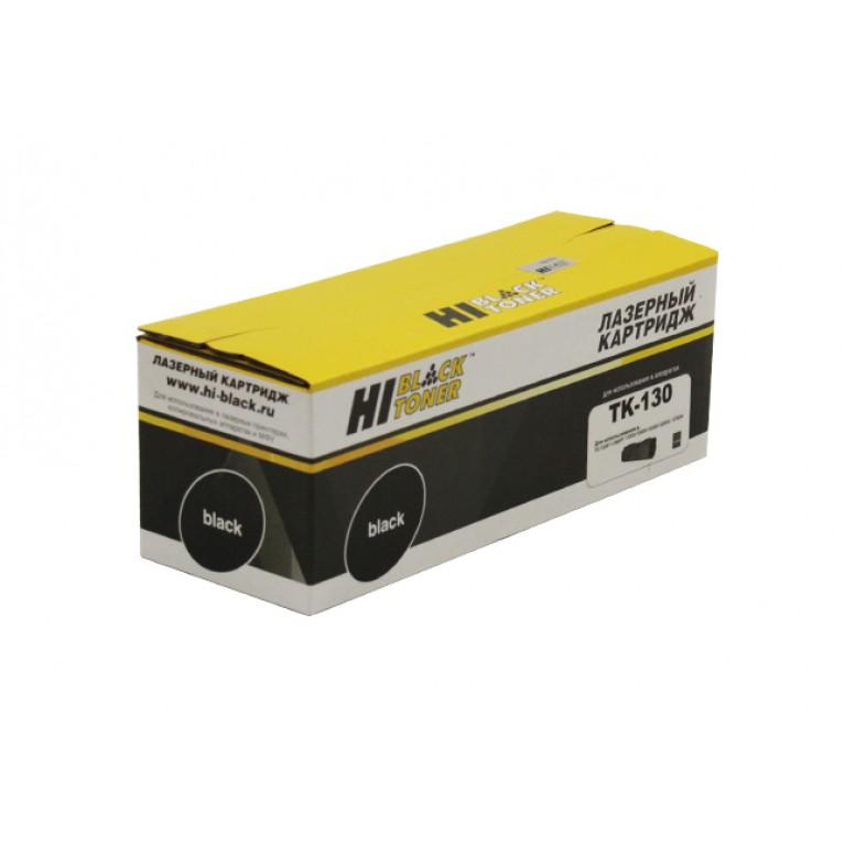Тонер-картридж Hi-Black HB-TK-130 для Kyocera FS-1028MFP, DP, 1300D, 7,2K