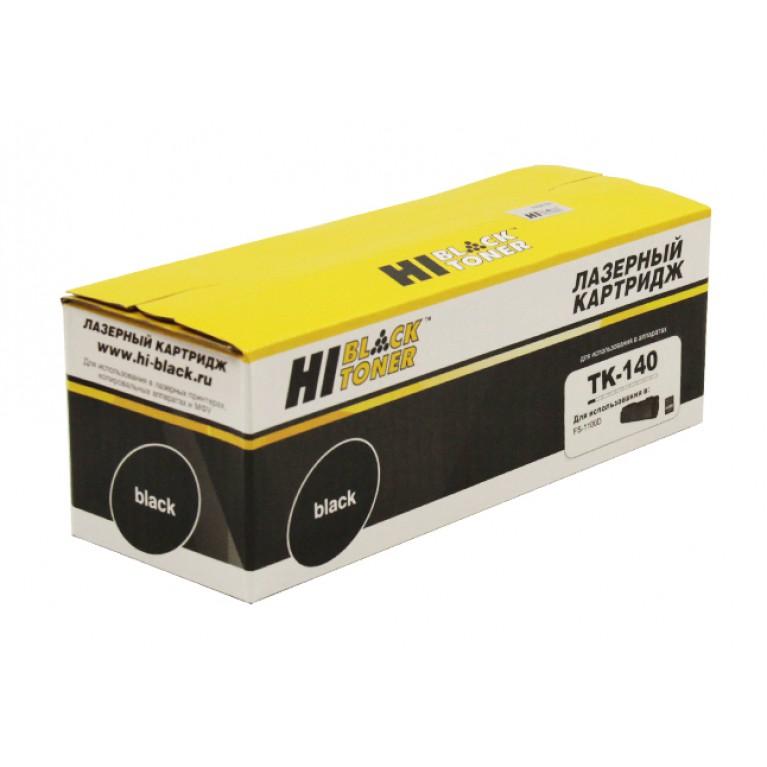 Тонер-картридж Hi-Black HB-TK-140 для Kyocera FS-1100, 4K