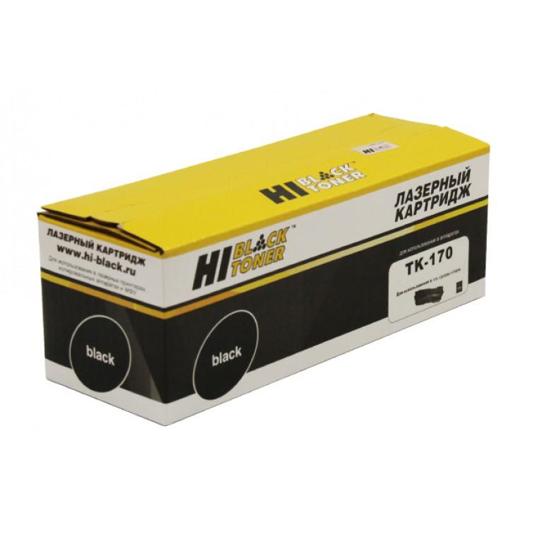 Тонер-картридж Hi-Black HB-TK-170 для Kyocera FS-1320D, 1370DN, ECOSYS P2135d, 7,2K