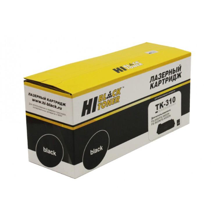 Тонер-картридж Hi-Black HB-TK-310 для Kyocera FS-4000DN, 2000D, 3820N, 3900DN, 12K