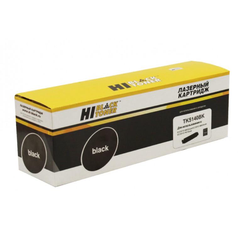 Тонер-картридж Hi-Black HB-TK-5140Bk для Kyocera ECOSYS M6030cdn, M6530cdn, Bk, 7K