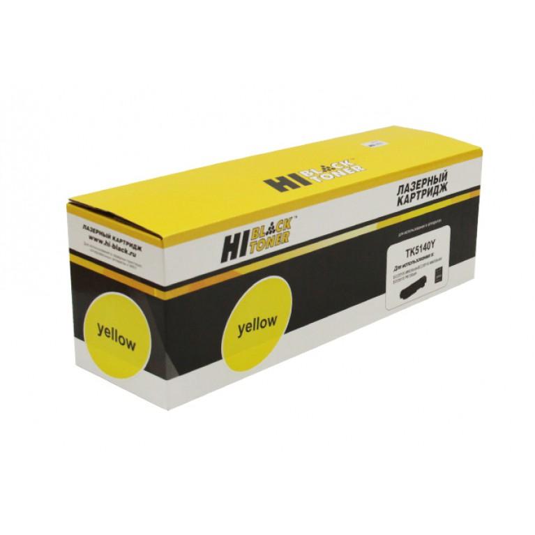 Тонер-картридж Hi-Black HB-TK-5140Y для Kyocera ECOSYS M6030cdn, M6530cdn, Y, 5K
