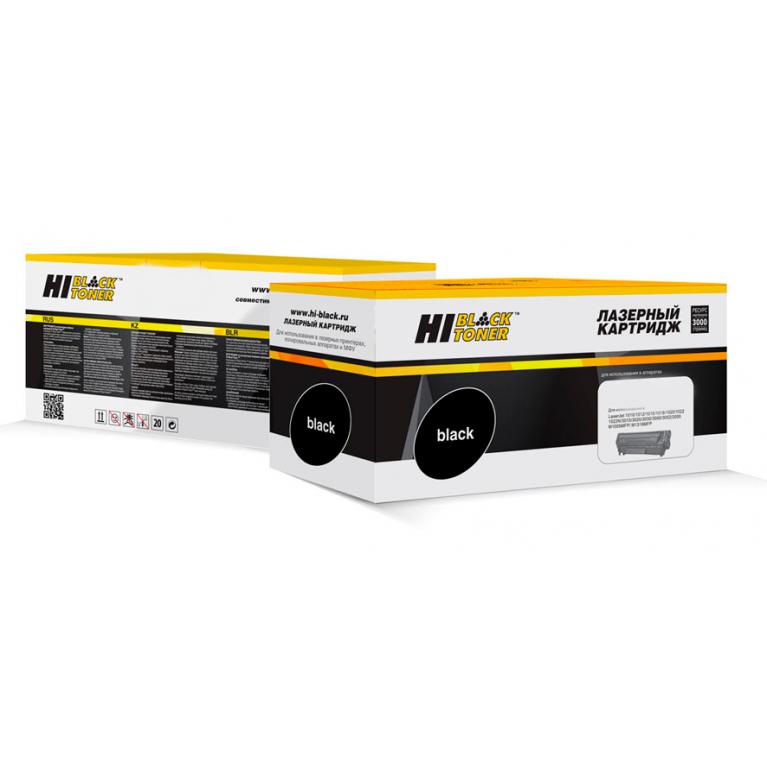 Тонер-картридж Hi-Black HB-TK-5160Bk для Kyocera Ecosys P7040cdn, Bk, 16K
