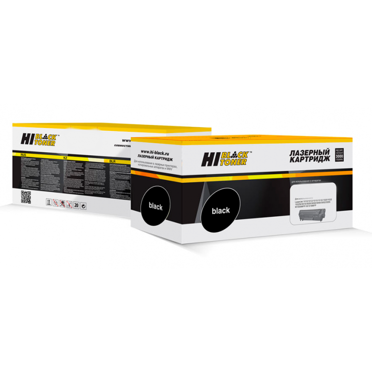 Тонер-картридж Hi-Black HB-TK-5215Bk для Kyocera TASKalfa 406ci, Bk, 20K