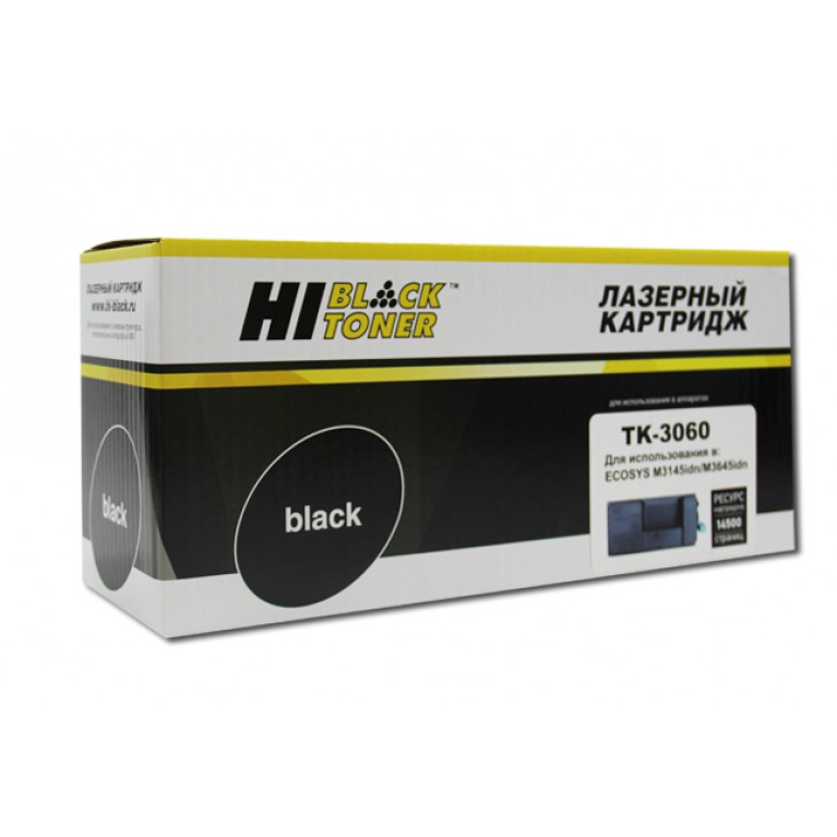 Тонер-картридж Hi-Black HB-TK-3060 для Kyocera ECOSYS M3145idn, M3645idn, 14,5K
