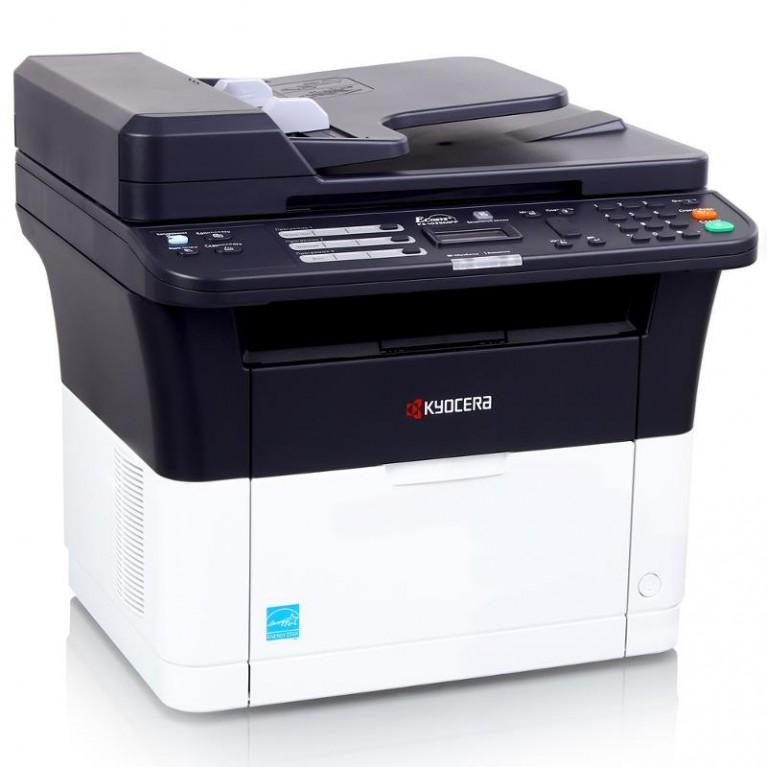 МФУ Kyocera FS-1125MFP (А4,25 ppm,1200dpi,25-400%,64Mb,USB,Network,цв. сканер,факс,дуплекс,автоподатчик,пуск. компл.)