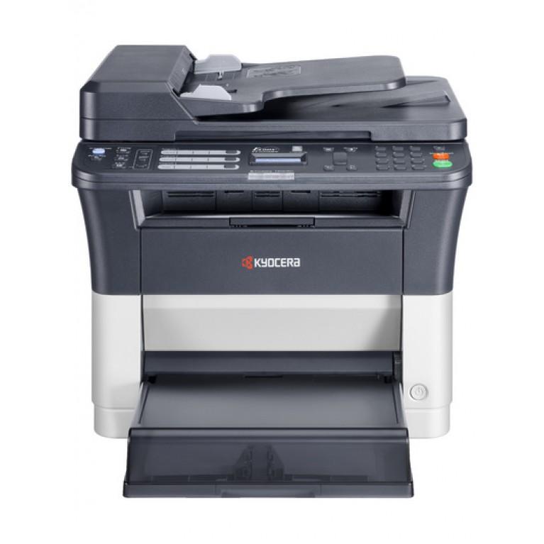 МФУ Kyocera FS-1120MFP (А4, 20 ppm, 1200dpi, 25-400%, 64Mb, USB, цв. сканер, факс, автоподатчик, тонер)