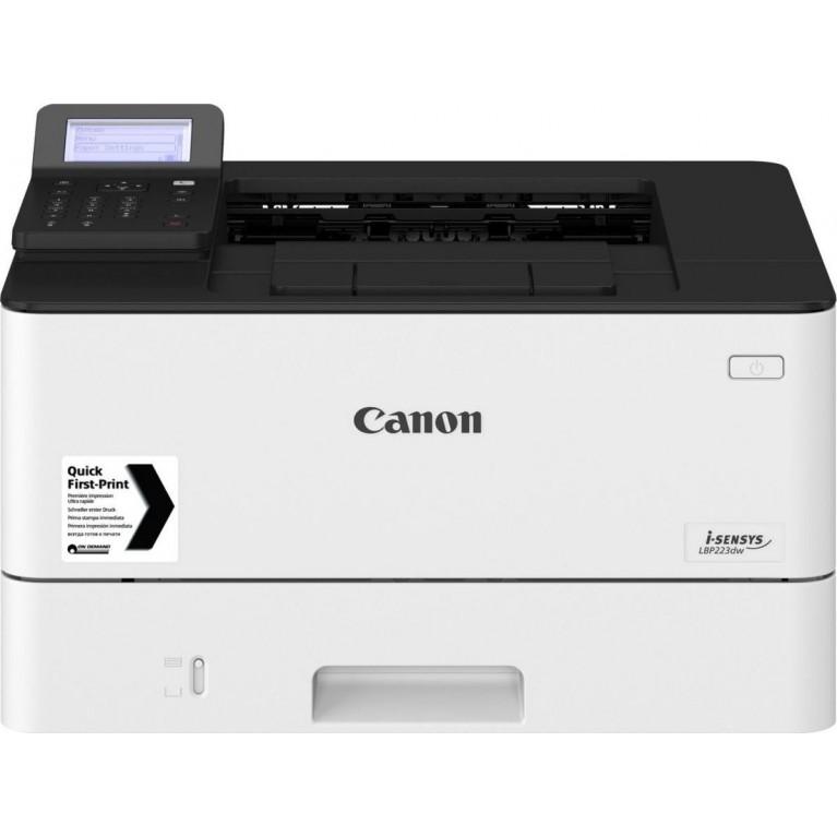Принтер Canon i-SENSYS LBP223dw (ЧБ, А4, 33 стр./мин., 350 л., USB 2.0, 10/100/1000-TX, Wi-Fi, дуплекс, 5-стр. дисплей)