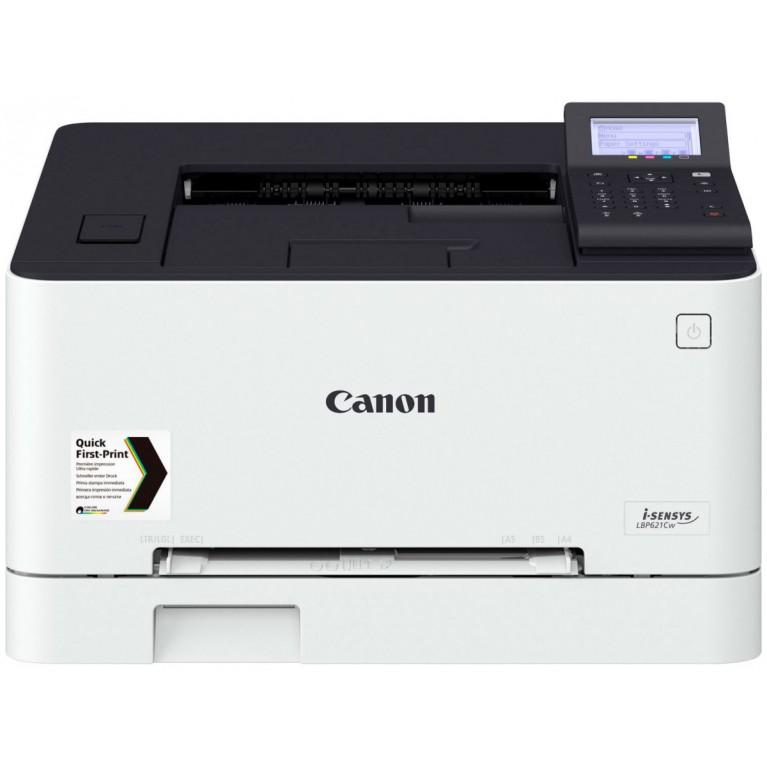 Принтер Canon i-SENSYS LBP621Cw цв. лазерный, А4, 18 стр./мин., 250 л. USB 2.0, 10/100/1000-TX, Wi-Fi