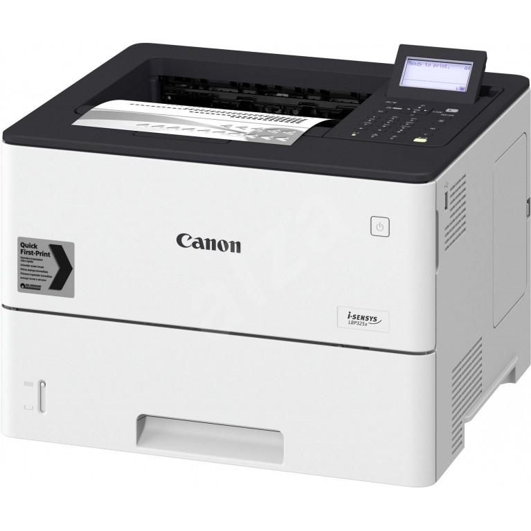 Принтер Canon i-SENSYS LBP325x (ЧБ, А4, 43 стр./мин., 550 л., USB 2.0, 10/100/1000-TX, дуплекс, 5-стр. ЖК-дисплей)