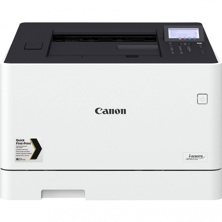 Принтер Canon i-SENSYS LBP663Cdw цв. лазерный, А4, 27 стр./мин., Экран 5 строчек USB 2.0, 10/100/1000-TX, Wi-Fi