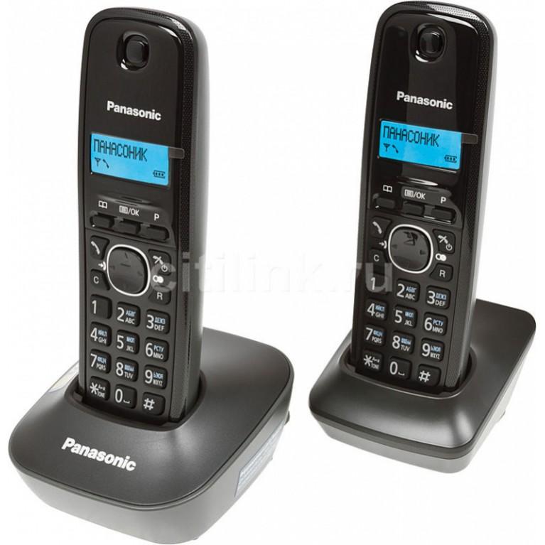 Беспроводной телефон Panasonic KX-TG1612RUH