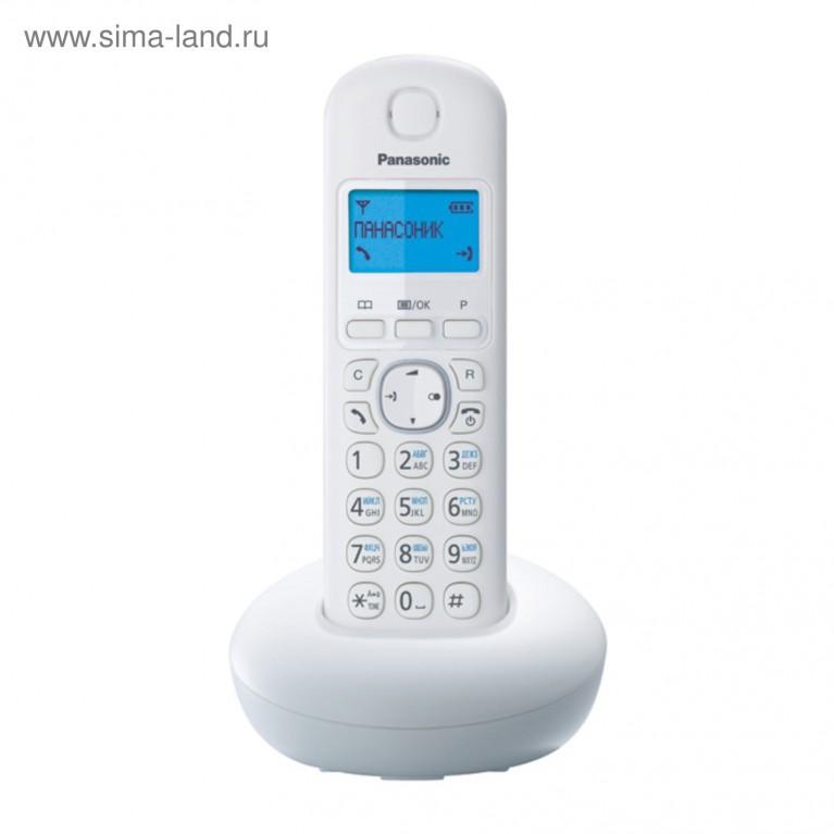 Беспроводной телефон Panasonic KX-TGB210RUW
