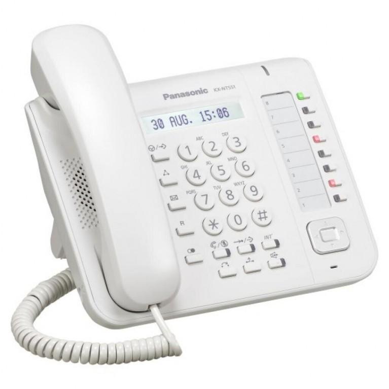 IP телефон Panasonic KX-NT551RU