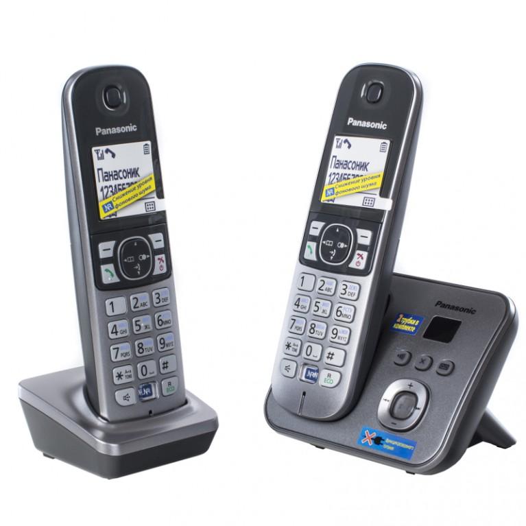 Беспроводной телефон Panasonic KX-TG6822RUM