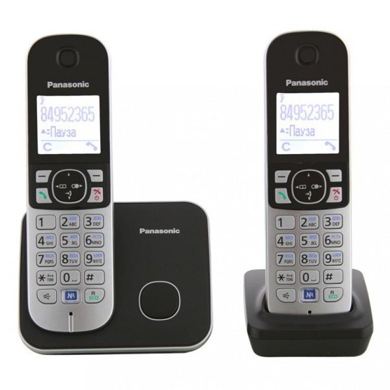 Беспроводной телефон Panasonic KX-TG6812RUB