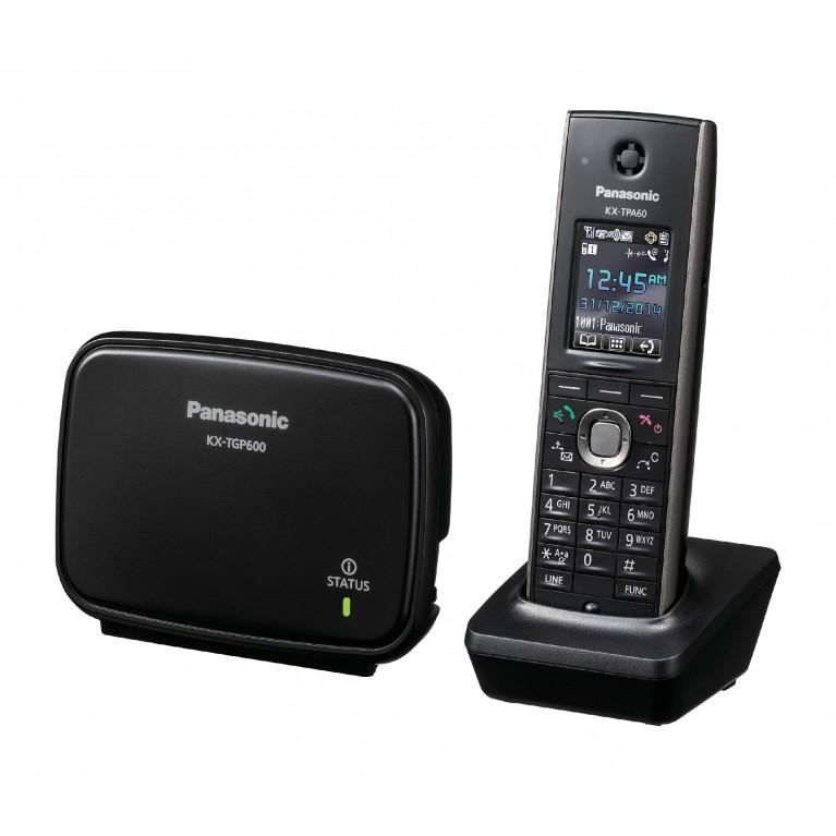Беспроводной SIP телефон Panasonic KX-TGP600RUB