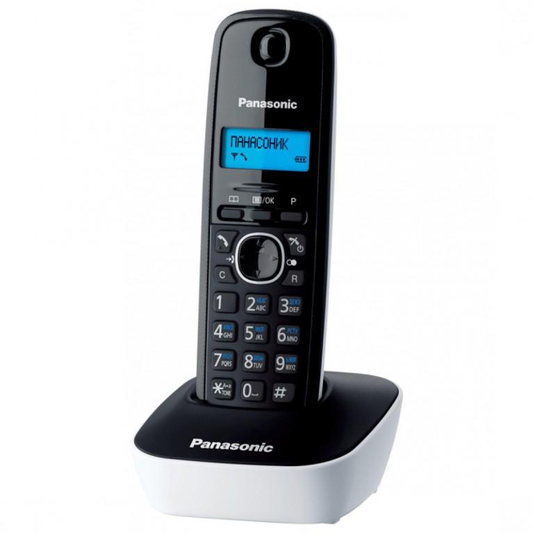 Беспроводной телефон Panasonic KX-TG1611RUW