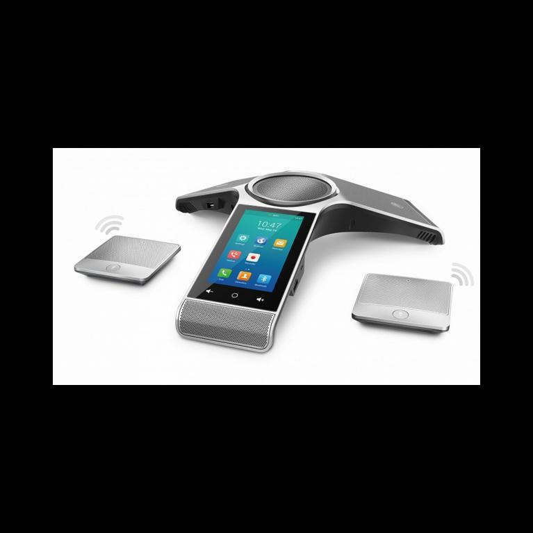 Комплект: Yealink CP960, конференц-телефон, PoE, запись разговора и 2 CPW90 беспроводные