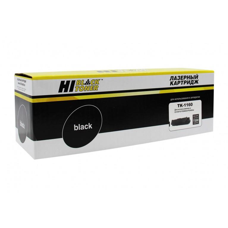 Тонер-картридж Hi-Black HB-TK-160 для Kyocera FS-1120D, ECOSYS P2035d, 2,5K