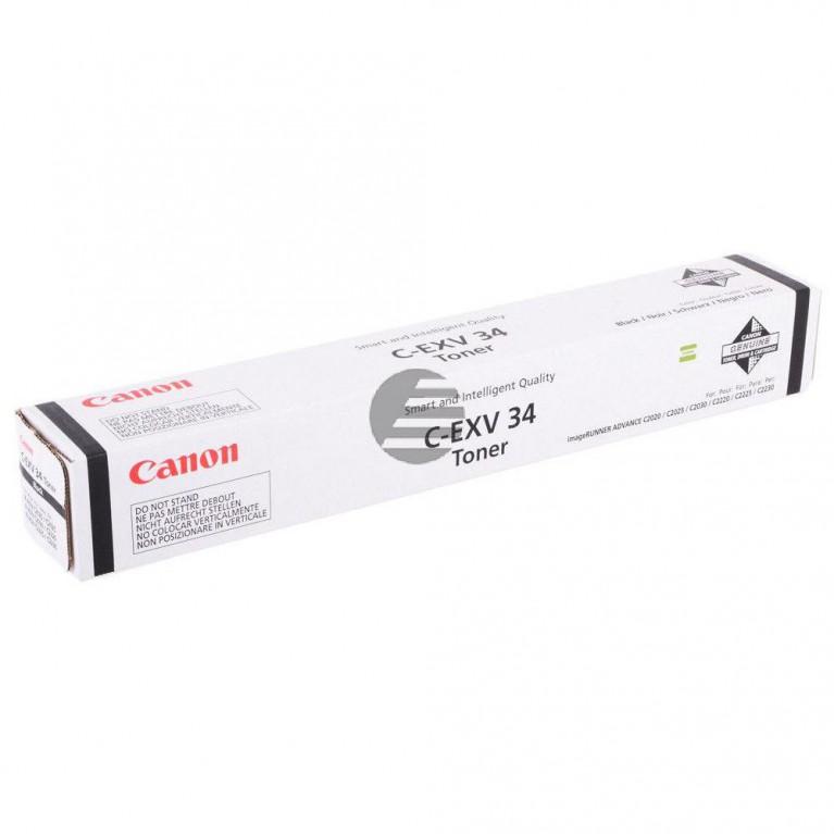 Барабан Canon С-EXV34 BK черный